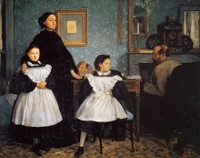 1860 The Belleli Family 200x250cm Museum d'Orsay, Paris, France
