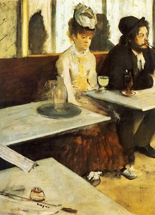 1876 The Absinthe Drinker
