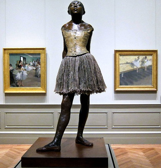 Little Dancer of Fourteen Years 1879-1880 Bronze Metropolitan Museum of Art New York City