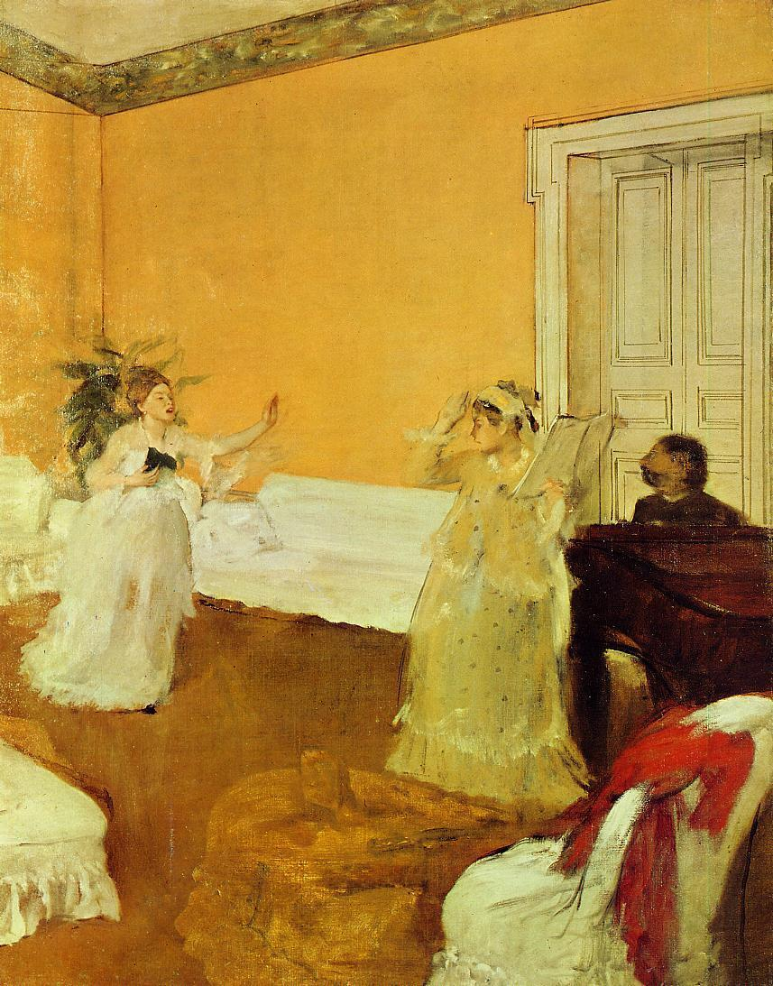 The Rehearsal 1873