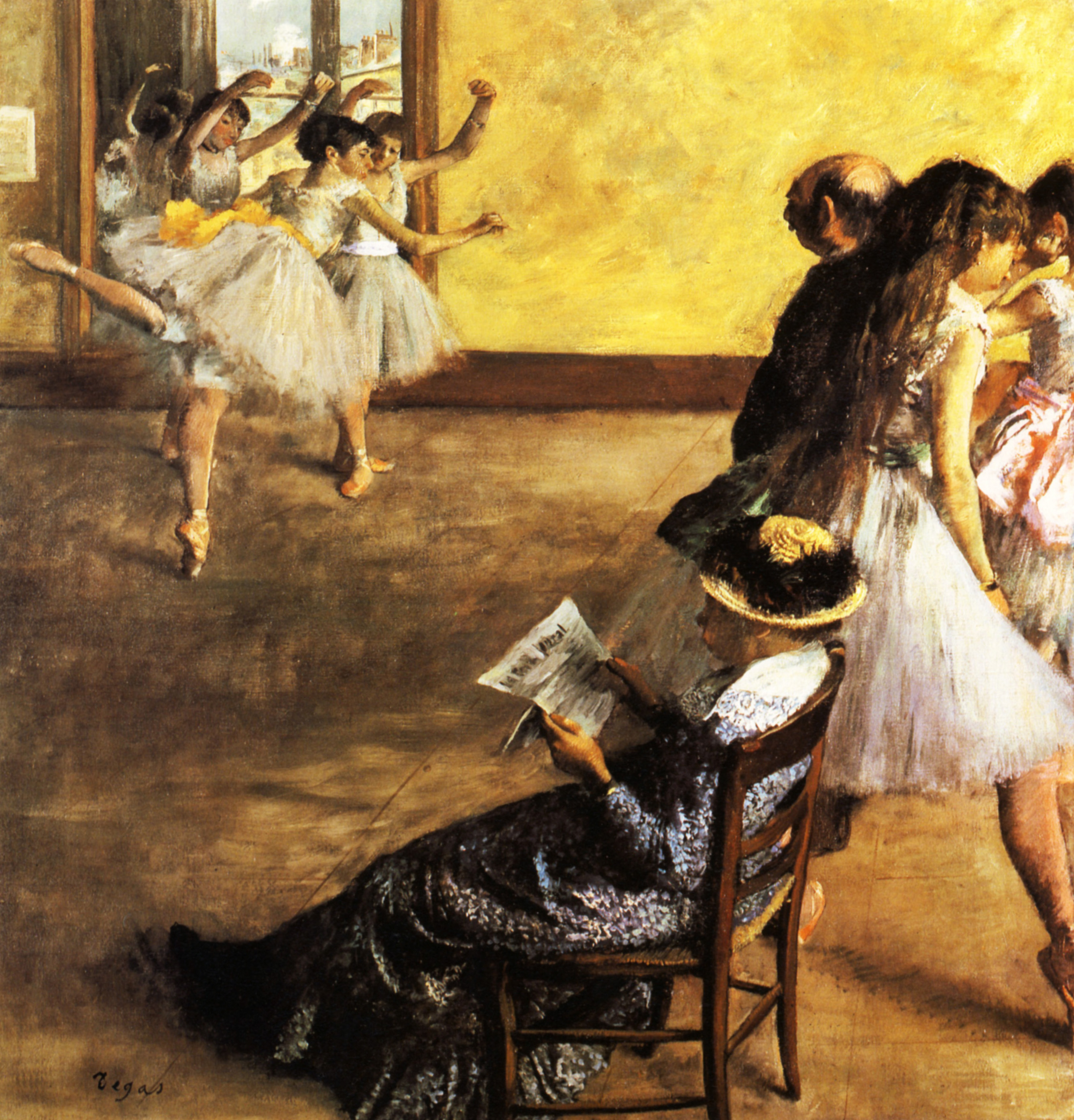 Ballet Class, the Dance Hall 1880