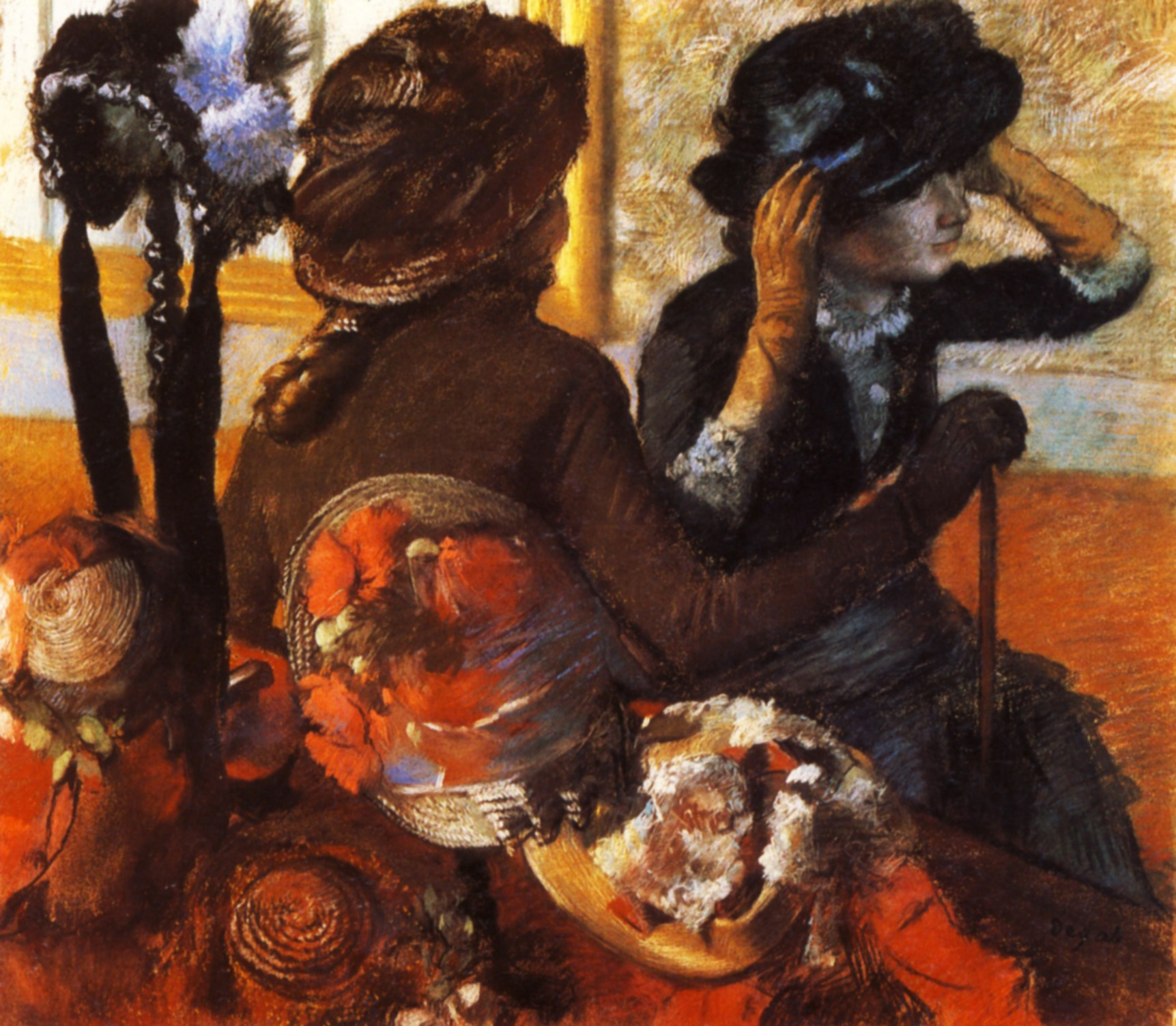At the Milliner's 1883