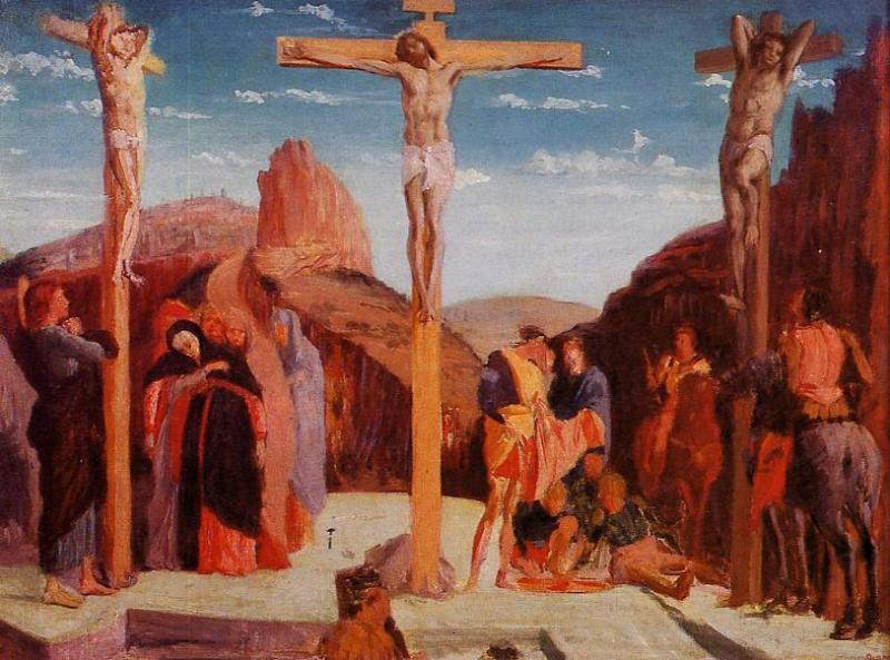The Crucifixion, after Mantegna 1861