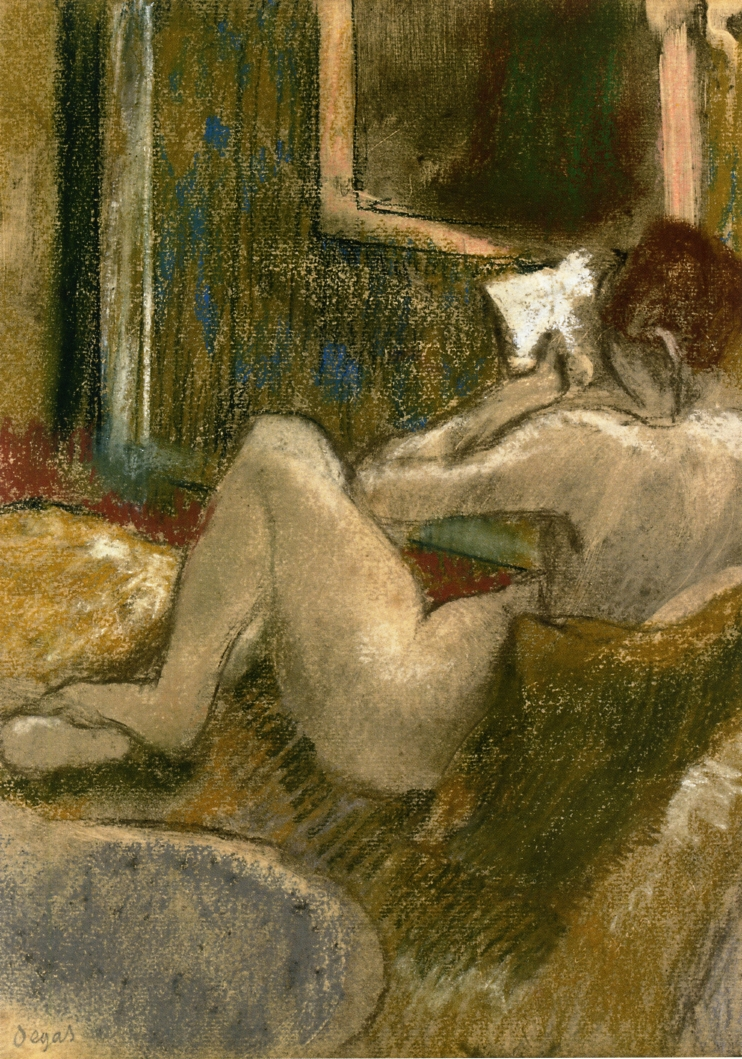 Nude from the Rear, Reading 1885