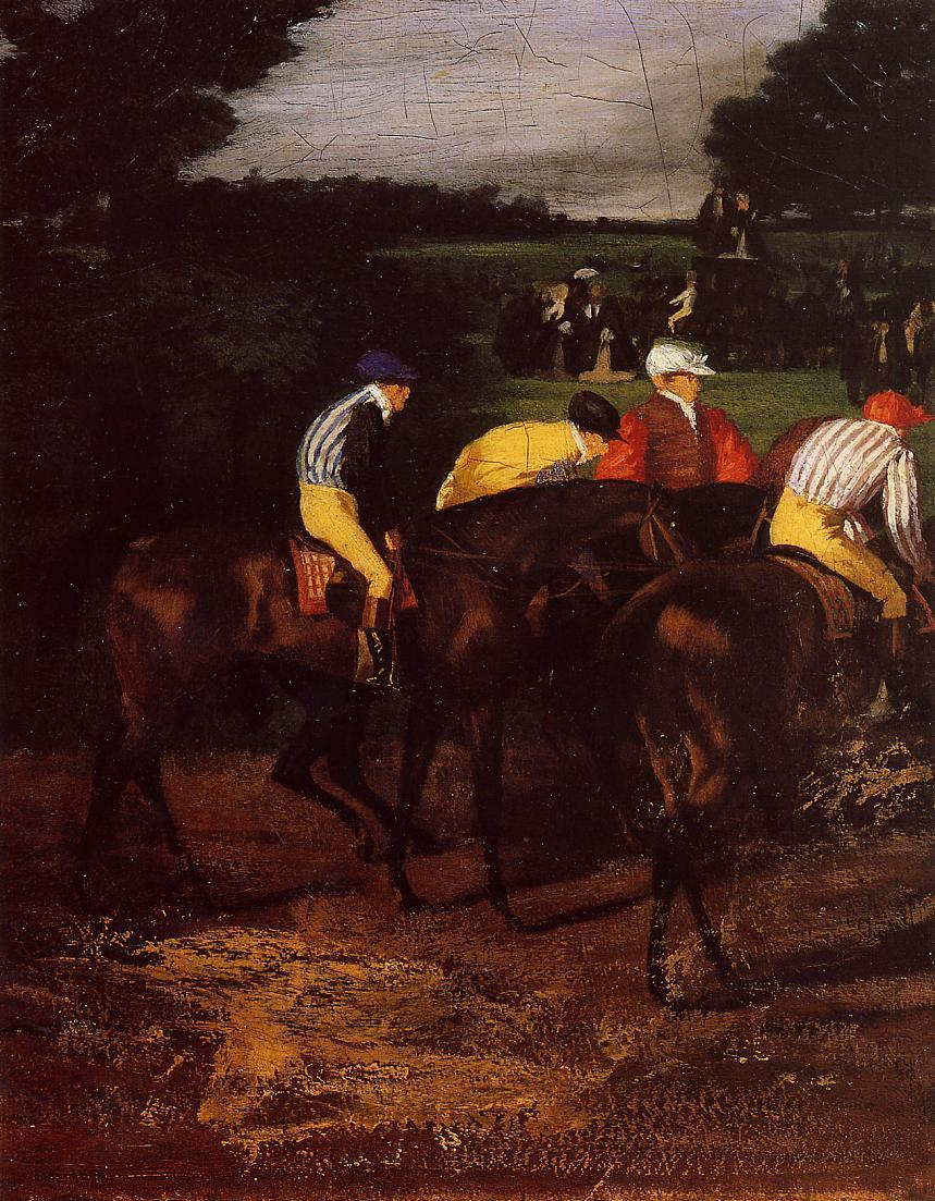 Jockeys at Epsom 1862