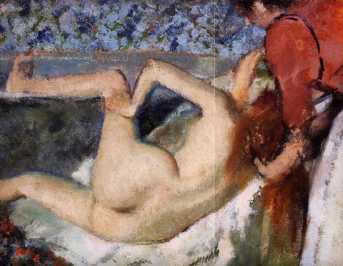 The Bath. Woman from Behind 1895