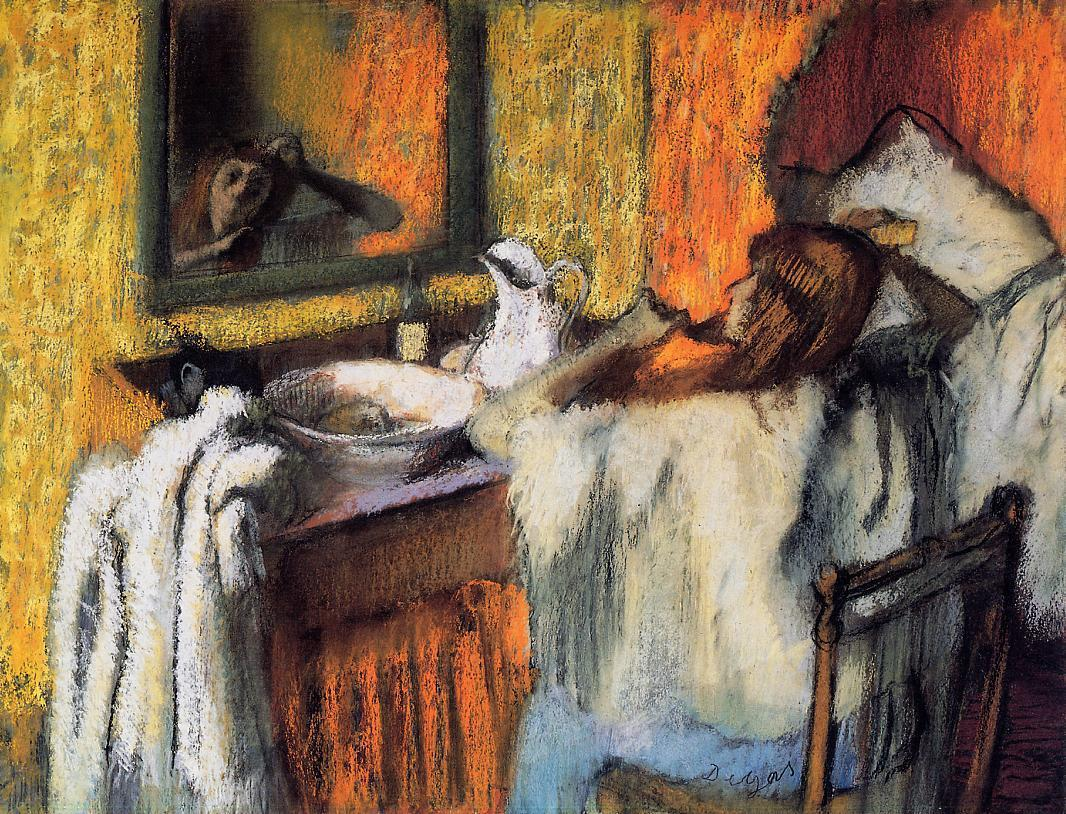 Woman at Her Toilette 1895-1900