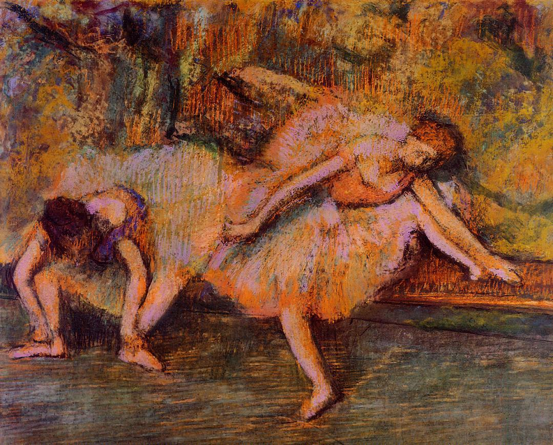 Two Dancers on a Bench 1905