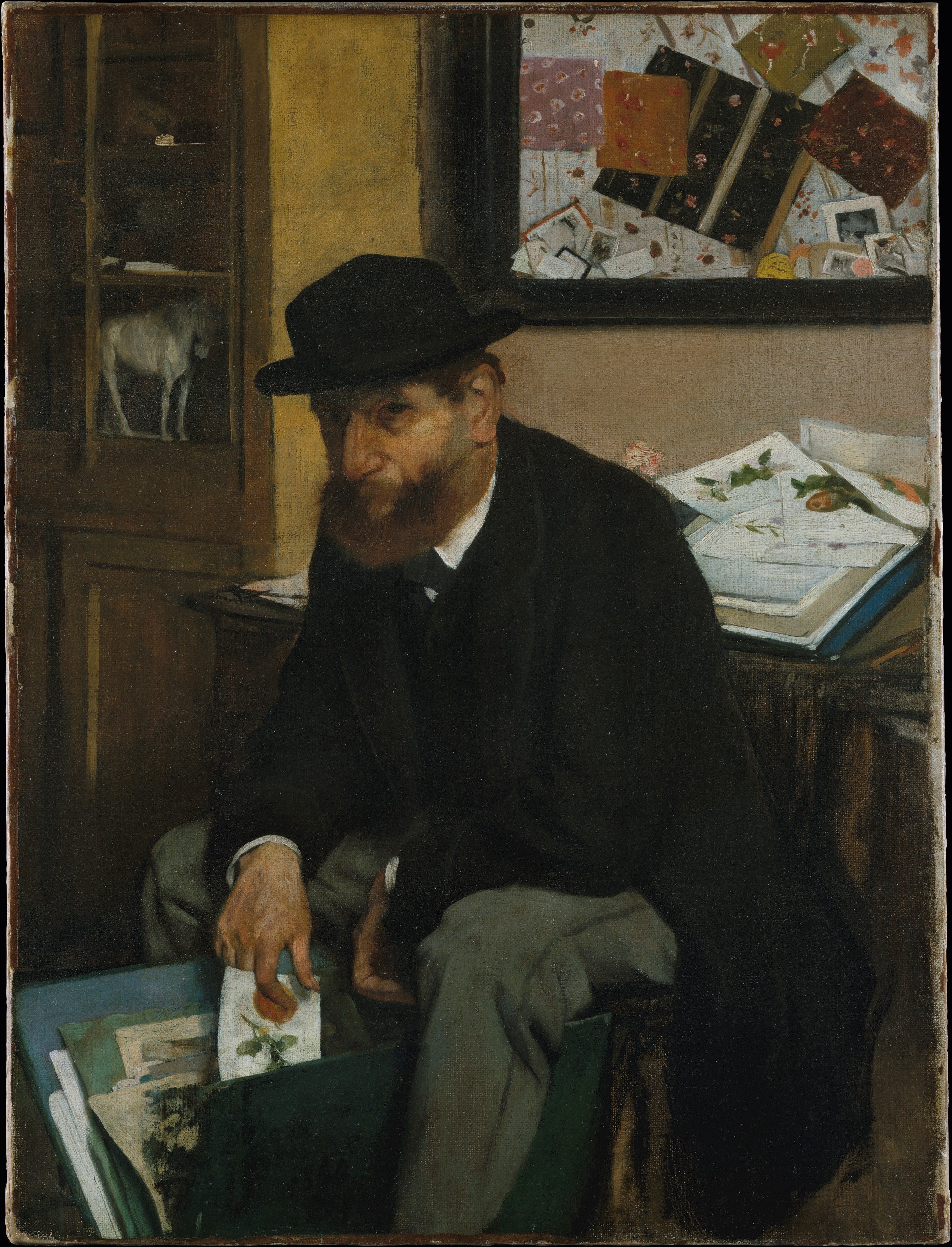 The Collector of Prints 1866