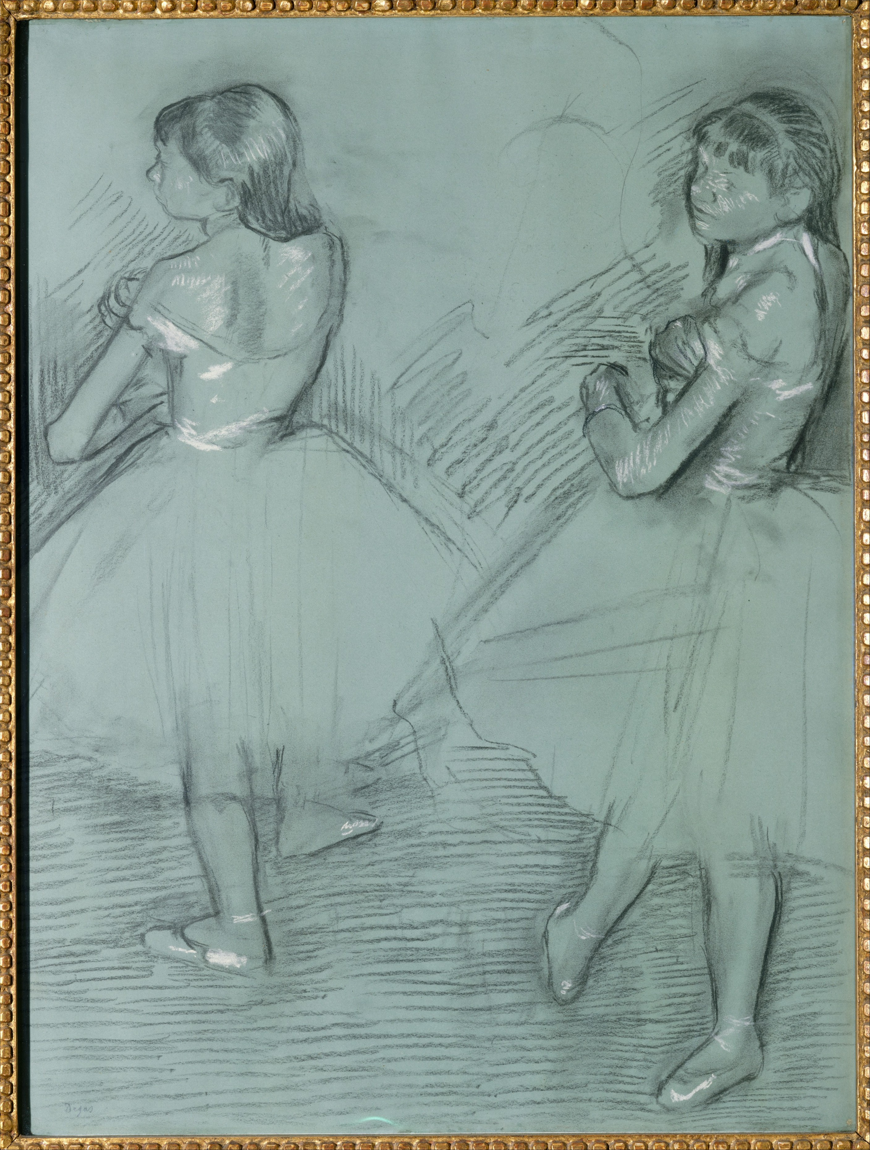 Two Dancers 1879